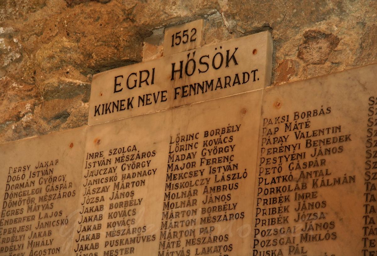 Egri hősök - Photo by Globe M. OWL - Fotó, 1552-es csata ...